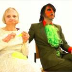 Videodreh Backe Frieden Szene Hochzeit