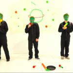 Videodreh Backe Frieden Szene Band