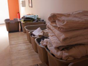 Erledigung Hauswäsche