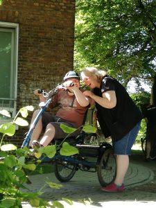 Spaß beim Radeln