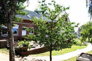 Alte Schule Reitbrook Garten