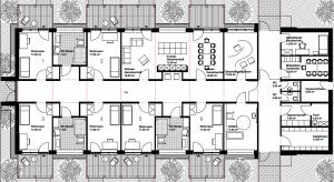 Lutz Herzog Architekt - werkstatt zwei - Wohngruppe
